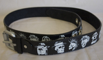 Doc Black - Punk Anarchy Belt