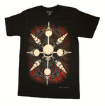 "Doc Black - Paul Fleming ""Circus Skull"" T-Shirt"